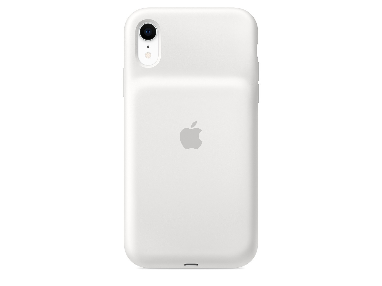Аккумулятор-чехол Apple iPhone XR Battery Case white MU7N2ZM/A