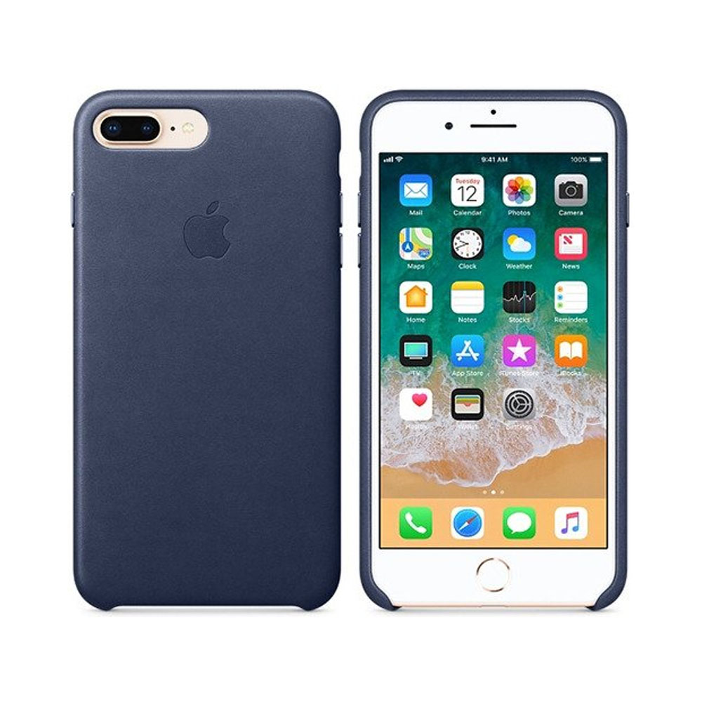 Чехол IPhone 8 Plus/7 Plus Leather Case MQHL2ZM/A Midnight Blue