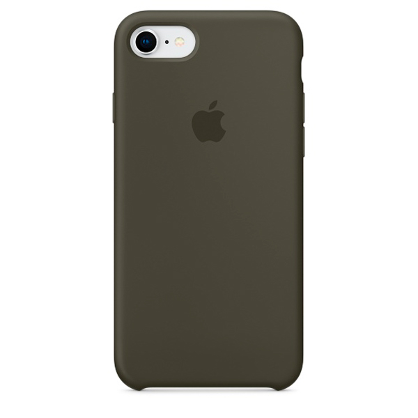 Чехол IPhone 8/7 Silicone Case MR3N2ZM/A Dark Olive