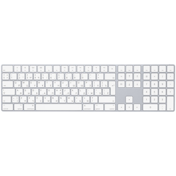 Клавиатура Apple Magic Keyboard with Numeric Keypad MQ052RS/A
