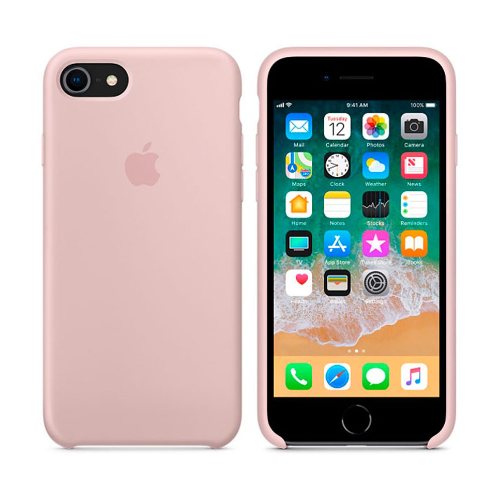 Чехол IPhone 8/7 Silicone Case MQGQ2ZM/A Pink Sand
