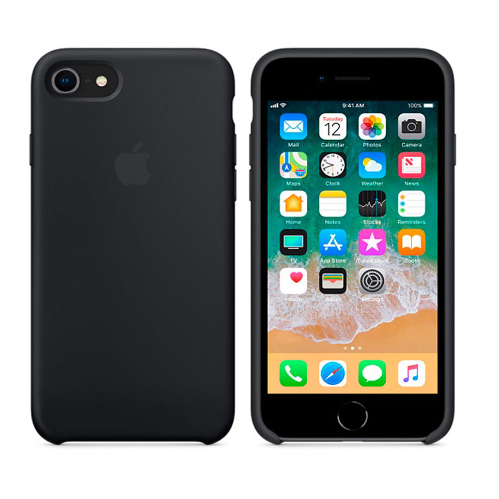 Чехол IPhone 8/7 Silicone Case MQGK2ZM/A Black