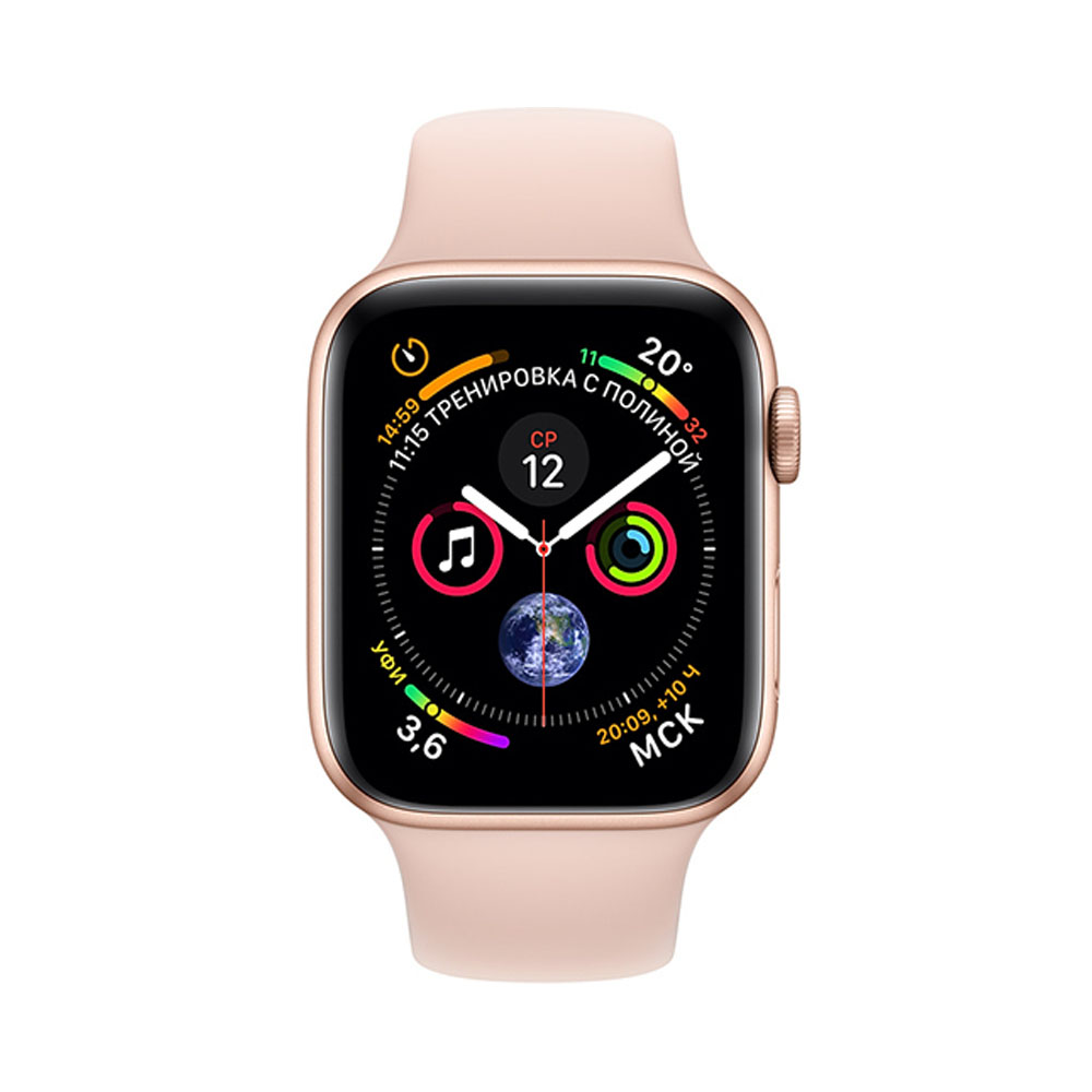 Apple Watch Series 4 GPS, 44 mm (MU6F2RU/A)