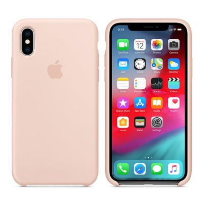 Чехол IPhone XS Max Silicon Case MTFD2ZM/A Pink Sand