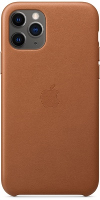 Чехол IPhone 11 Pro Leather Case MWYD2ZM/A Brown